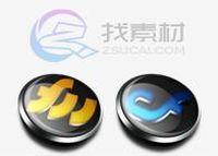 金属纽扣软件应用图标