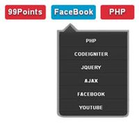 jQuery+CSS3弹动下拉菜单