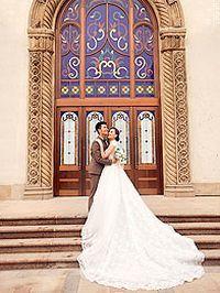 浪漫古典婚纱照苹果手机壁纸