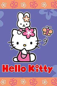 KITTY猫卡通手机壁纸大全