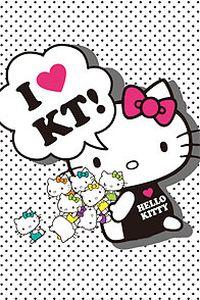 KITTY猫卡通高清手机壁纸