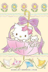 KITTY猫卡通苹果安卓手机壁纸