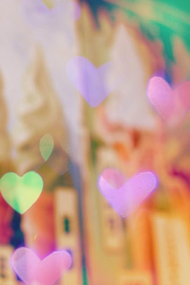 浪漫爱情心形手机壁纸