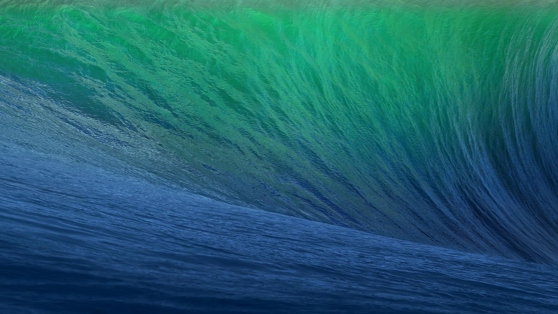 苹果MAC巨浪壁纸大全