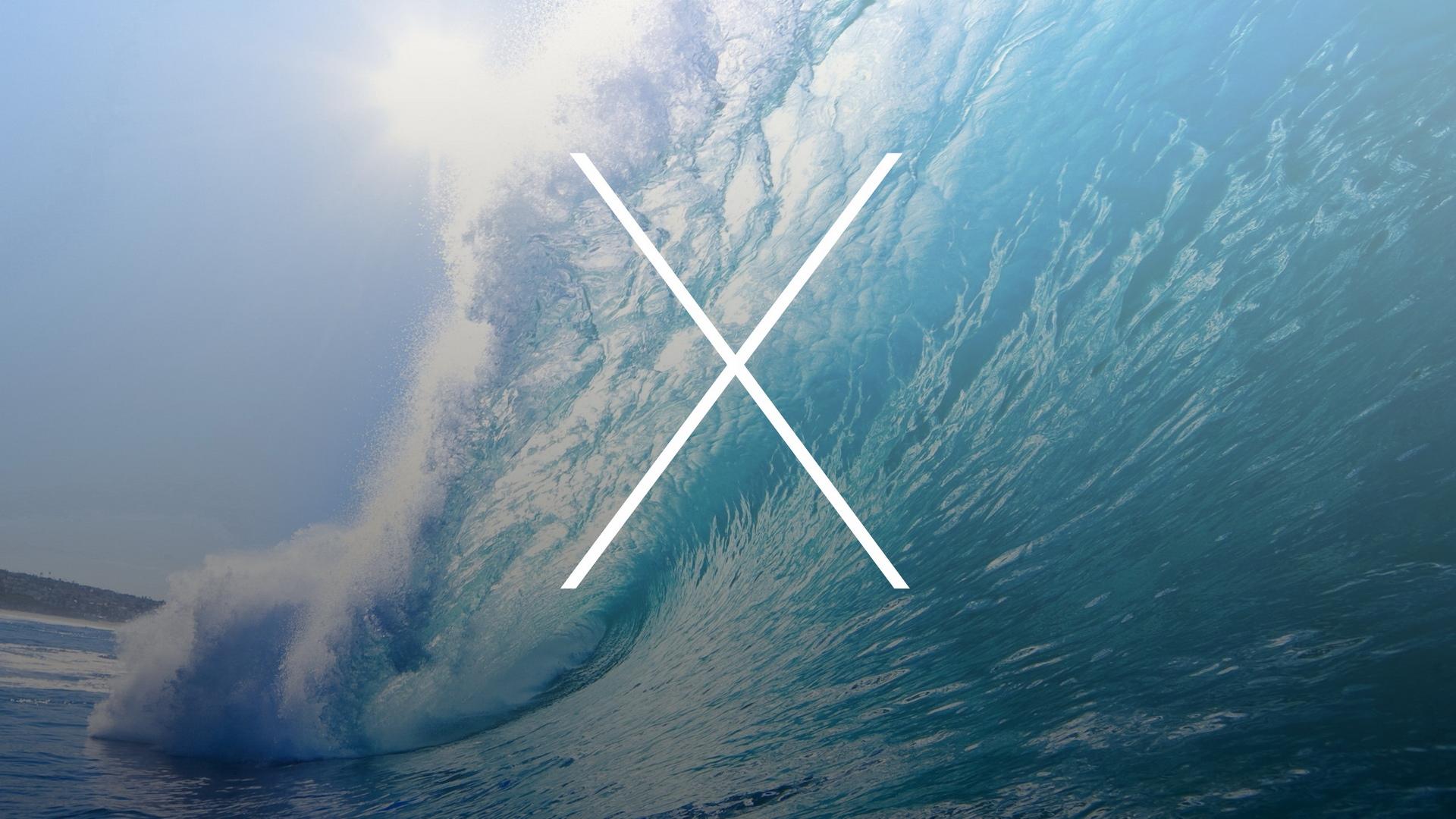苹果MAC巨浪桌面壁纸高清