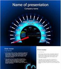 速度与激情汽车仪表盘ppt模板大全
