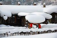 雪乡唯美风景图片