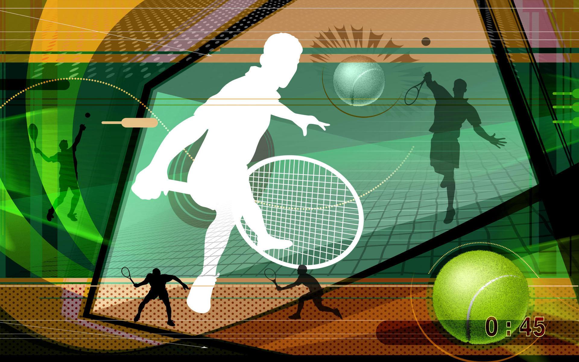 奥运体育项目抽象主题桌面壁纸大全
