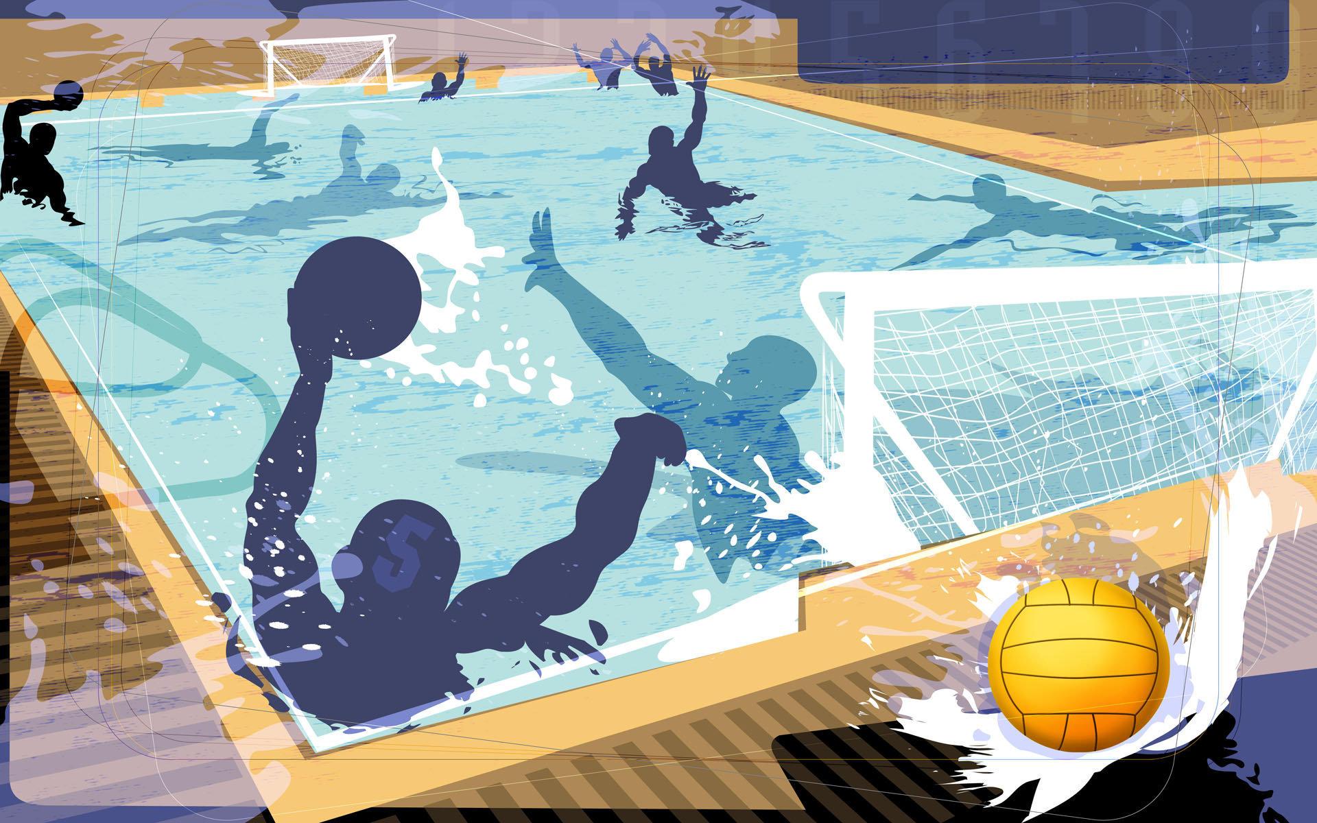 奥运体育项目抽象主题壁纸