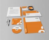 橙色VI设计源文件素材