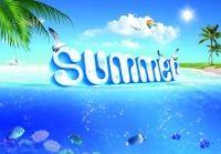 summer夏日海报设计PSD
