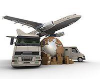 飞机货车全球物流图片