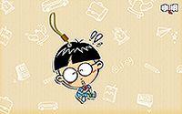 小明卡通男孩第一弹高清壁纸下载