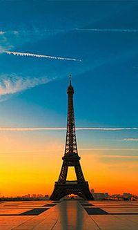 巴黎埃菲尔铁塔手机壁纸