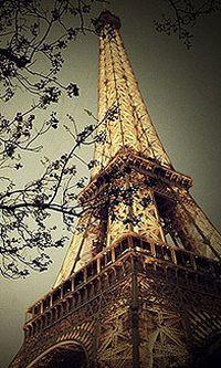 巴黎埃菲尔铁塔iphone手机壁纸