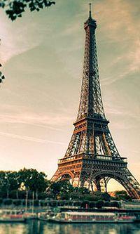 巴黎埃菲尔铁塔安卓手机壁纸
