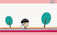 小明卡通男孩第二弹桌面壁纸大全