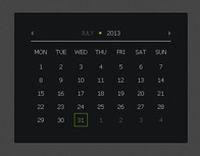 jQuery日历插件