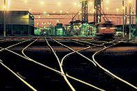 火车轨道摄影高清图片