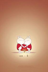 兔斯基卡通小米手机壁纸