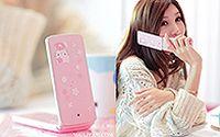 网络小美女Hello Kitty 清纯手机代言桌面壁纸