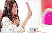 网络小美女Hello Kitty 清纯手机代言桌面壁纸高清