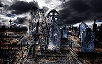 恐怖墓地图片下载