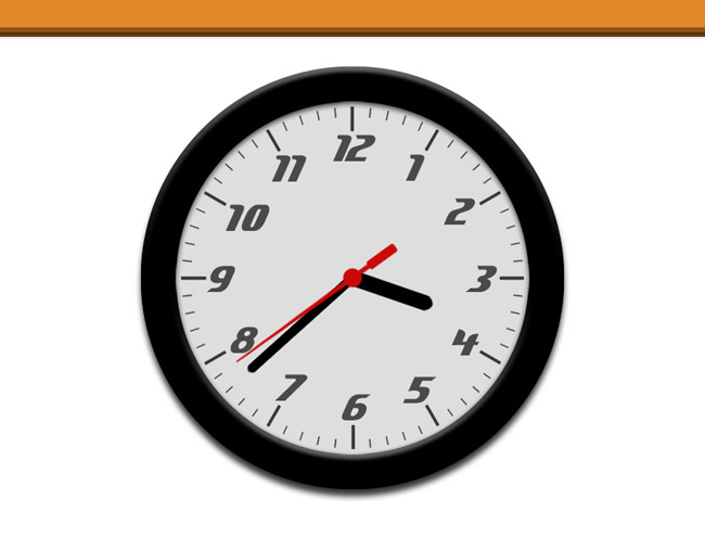 当时钟指针摆过整点或半点时刻