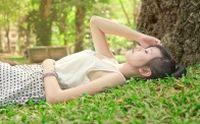 夏日清新美少女可爱写真宽屏壁纸下载