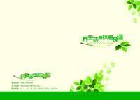 养生食谱PSD书籍封面