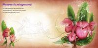 植物花卉装饰背景图PSD