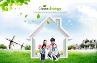 绿色能源PSD人物素材