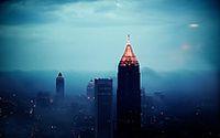 雾霾天空图片素材下载