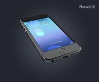 iPhone5s手机效果图PSD
