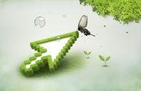 绿色环保PSD创意设计