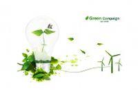 绿色创意PSD分层素材