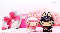 拽猫可爱情侣壁纸桌面