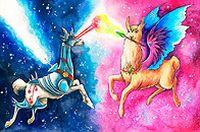 天马行空星动漫图片
