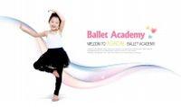 舞蹈女孩PSD人物素材