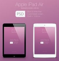 iPad Air平板电脑模型