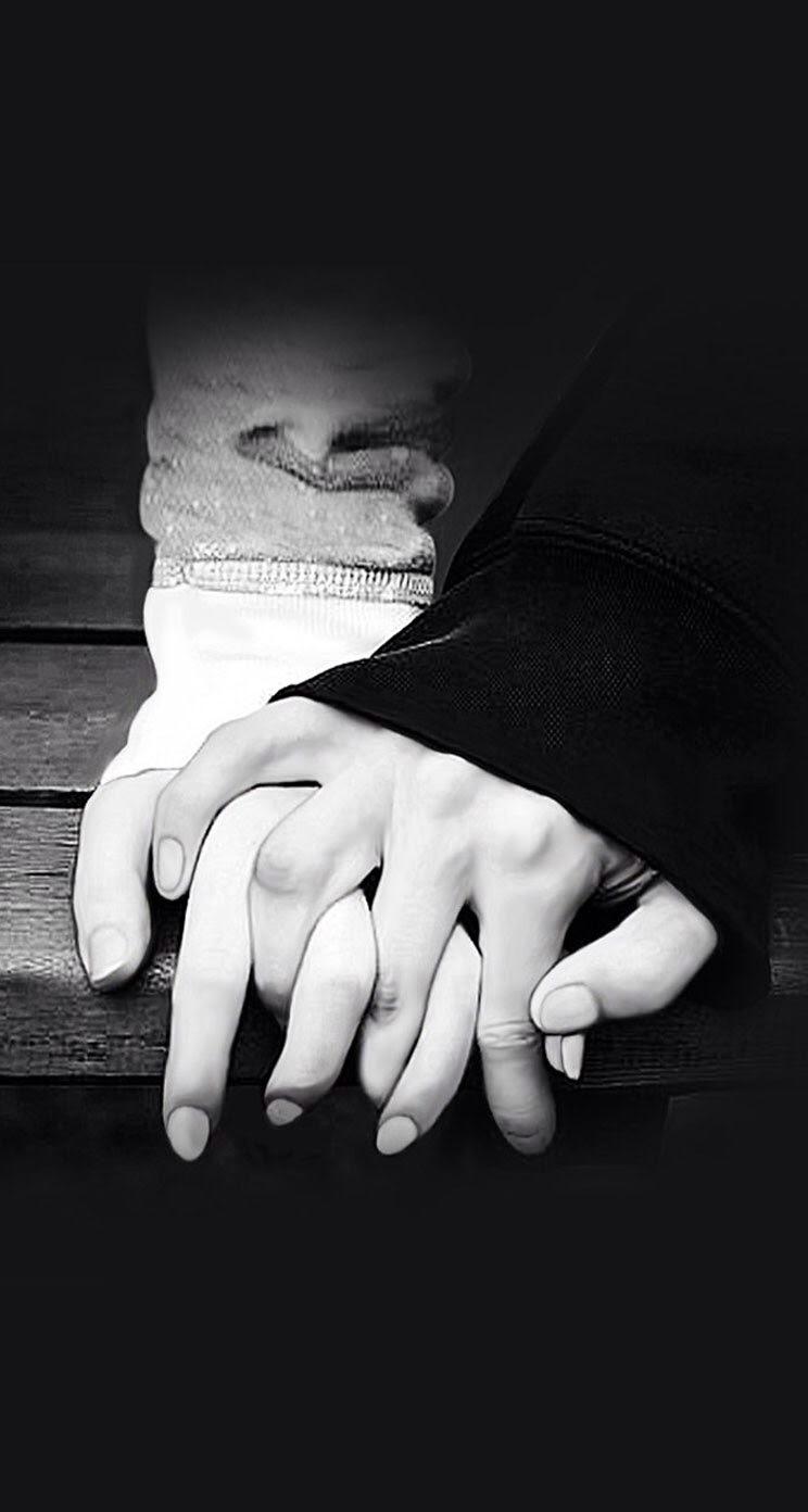 情侣牵手唯美高清智能手机桌面壁纸