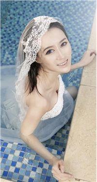 美女杨菲菲超级新娘高清手机壁纸