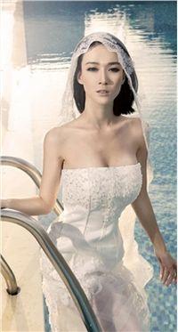 美女杨菲菲超级新娘苹果安卓手机壁纸