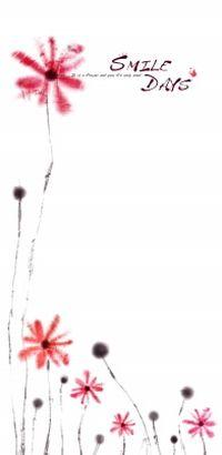 创意花卉背景源文件素材