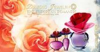 玫瑰女士香水PSD广告