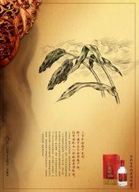 高粱酒PSD海报设计素材