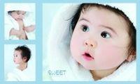 儿童写真艺术摄影PSD模板