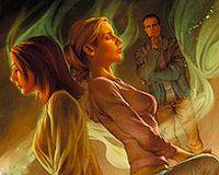 催眠油画手绘图片下载