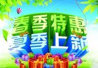 春夏促销海报设  计PSD模板