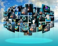 悬浮相片科技未来高清图片下载